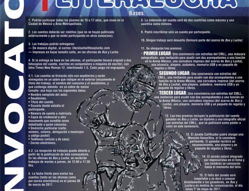 """1er. Concurso de Cuento Breve de Lucha Libre """"LITERALUCHA"""""""