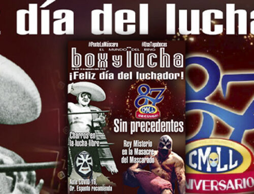 BOX Y LUCHA No. 3440